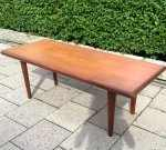 Danish teak coffe table, 50's, with extensions, SOLD 2018-04-07
