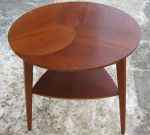Round occasional table, Denmark, 50´s, SOLD