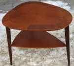 Oval occasional table, teak, 50´s, SOLD