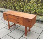 Teak chest of drawers 60's SOLD 2017-10-28