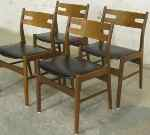 Danish 50´s chairs, set of four, SOLD