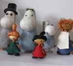 Atelier Fauni Moomin figurines, Finland, 50's, SOLD 2013-10-20