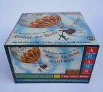 """Around the world in 80 days"", plastic model construction kit by Adams Models, copyright 1958, NOS, new in box. 425 SEK 2018-01-22"