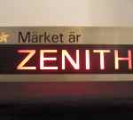 Advertisement sign, Zenith watches, SOLD