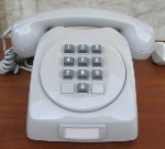 L M Ericsson Dialog with keypad, made in 3.000 samples ever 1962-78, NOS. SOLD